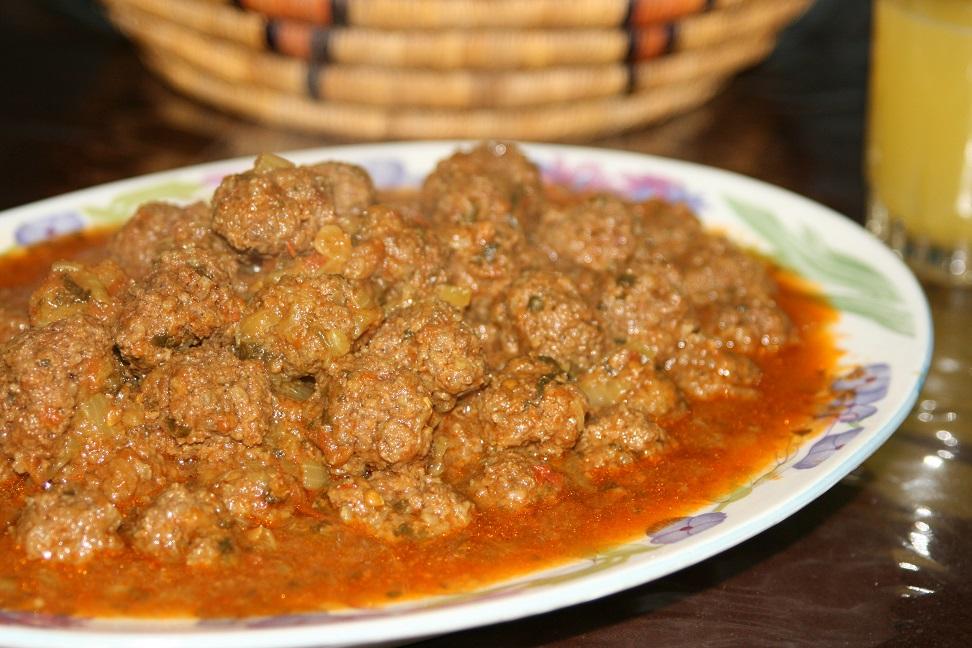 Boulettes de kefta (viande hachée)