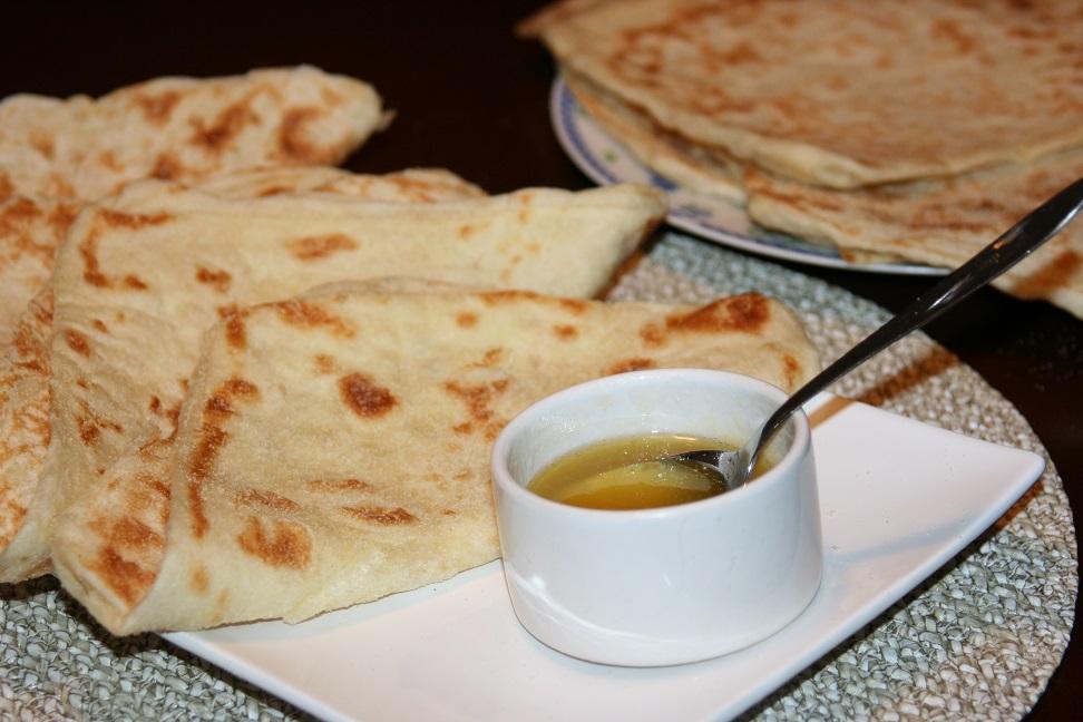 Crêpes marocaines (mssamn, rghaif)