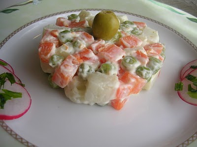 Salade de carotte et pomme de terre