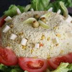 salade riz thon