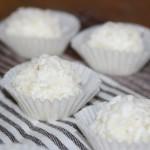 Boules à la noix de coco