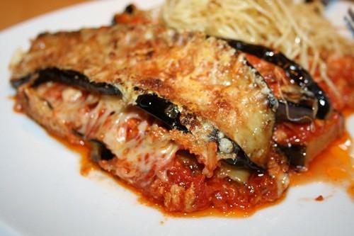 aubergine bolognaise