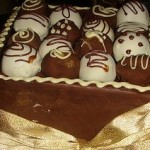 cholocate truffle cake