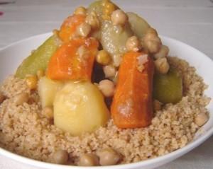 couscous légumes blé