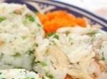 salade de riz et poulet