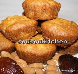 muffins au dates