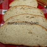 Pain de blé au miel 2