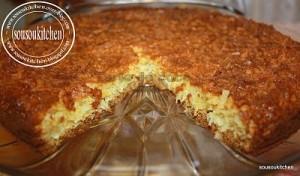 Gâteau au noix de coco
