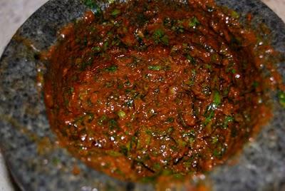 sauce chermoula