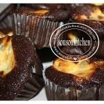 Muffins au chocolat et fromage à la crème