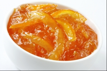 confiture zeste d'orange