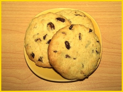 biscuits aux raisins secs