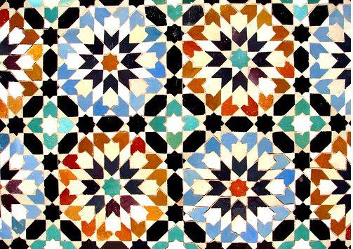 mosaique du maroc