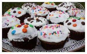 Cupcake au chocolat