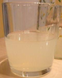 Jus de citron-limonade