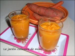 Velouté de carotte à la cannelle