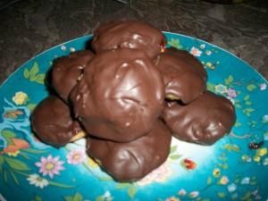 Biscuits à la confiture et au chocolat
