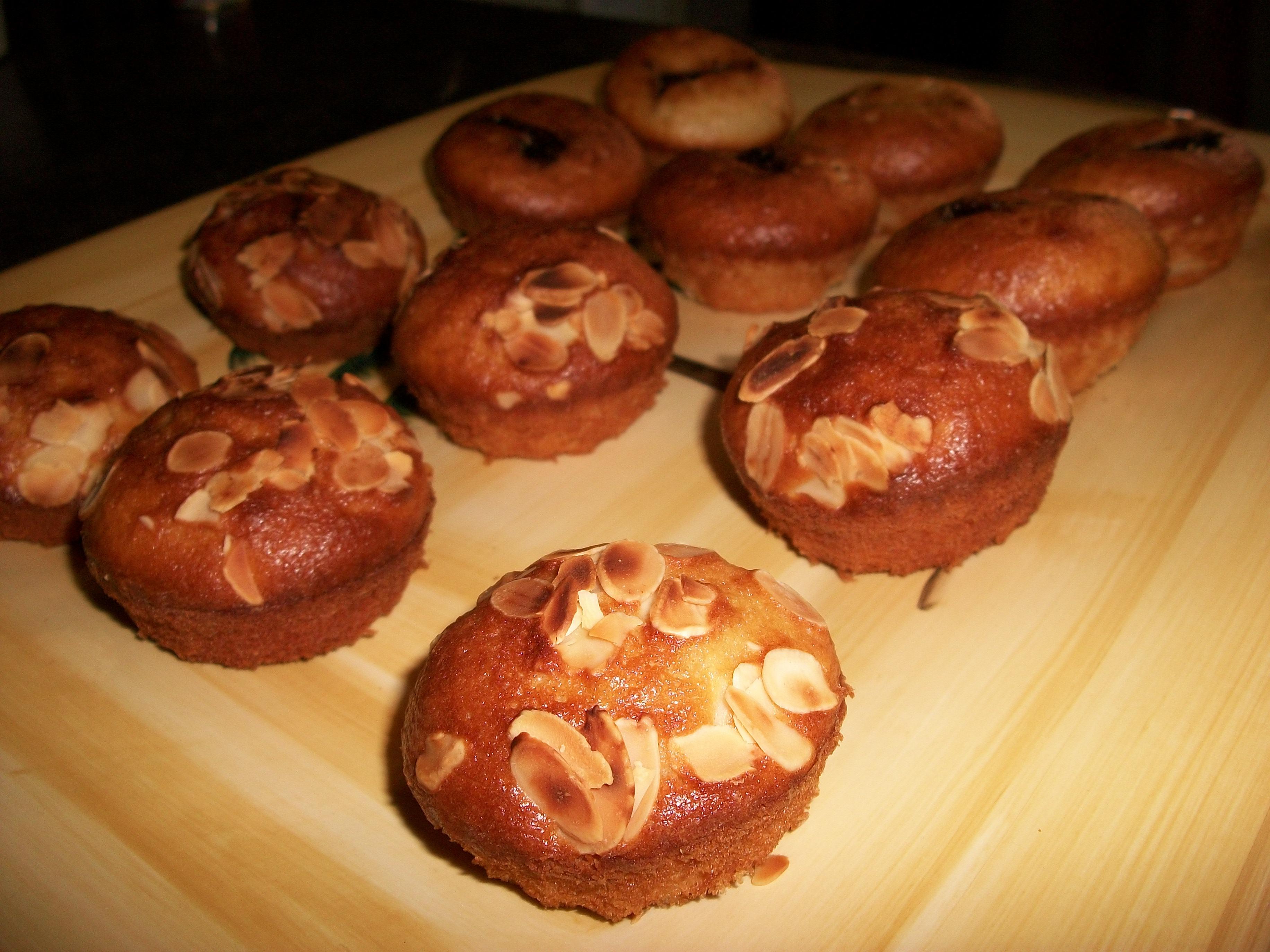 Muffins à la noix de coco et vanille