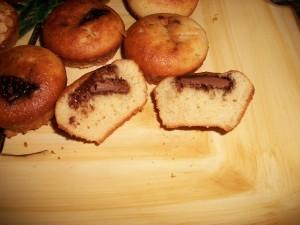 Muffins à la noix de coco et au chocolat