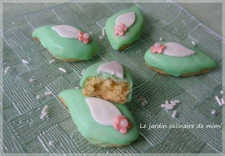 Biscuits glacés aux pistaches