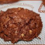 Biscuits au chocolat, amandes et noix de coco