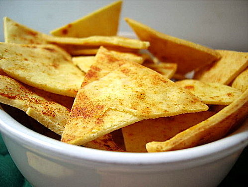 Chips tortillas (nachos)