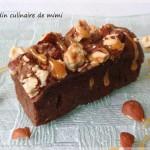 mini gateaux noisettes chocolat et caramel