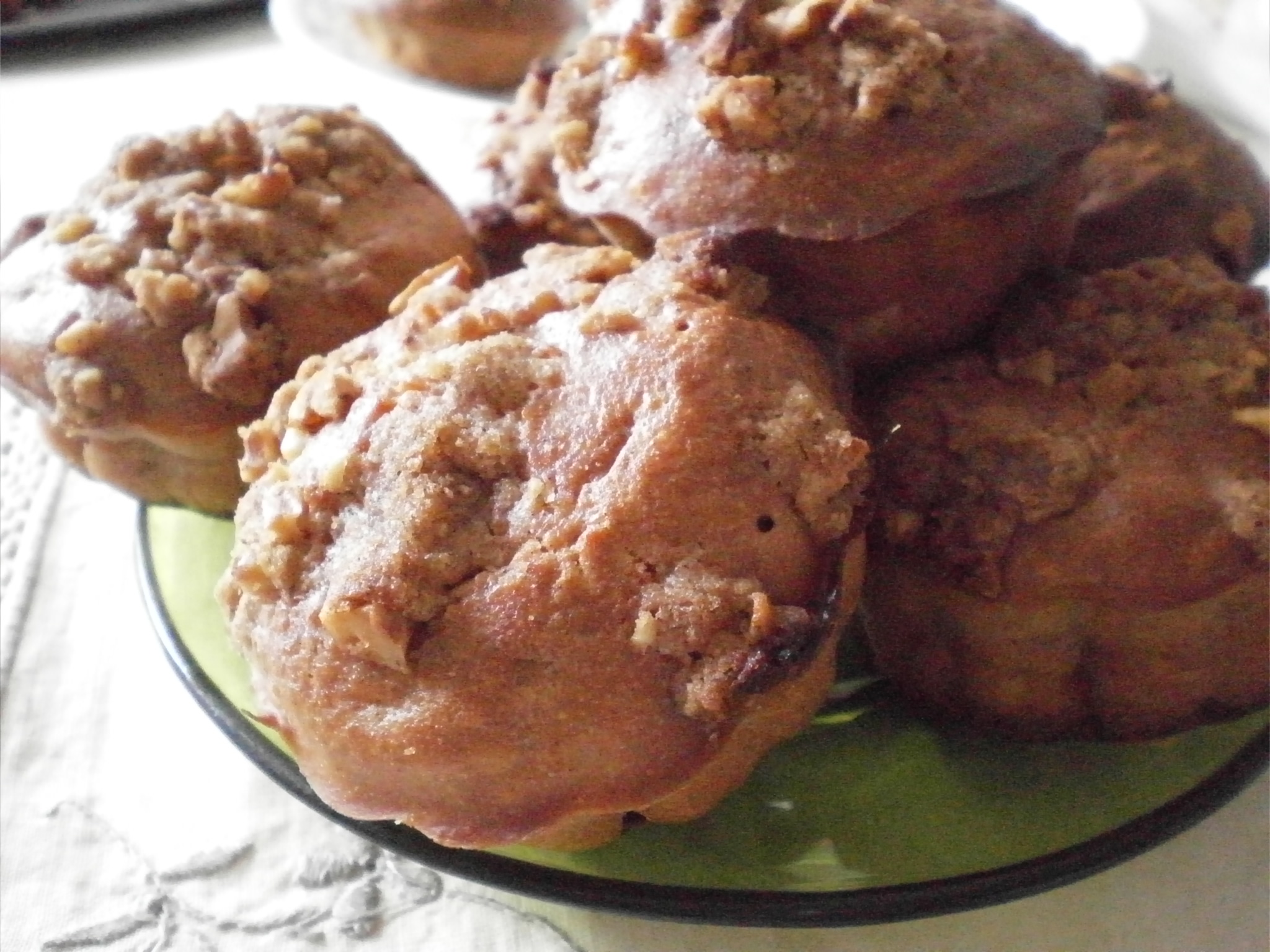 Muffins streusel aux pommes