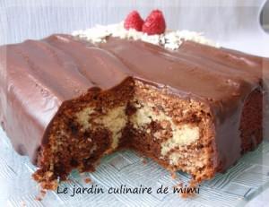 Cake Marbr Ef Bf Bd Banane Nutella