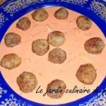 Tajine de boulettes de viande aux noisettes