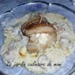 filet de poisson roule au fromage