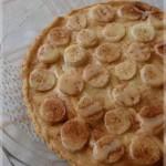 tarte banane et caramel