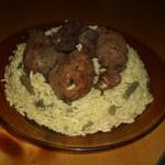 Pilons de poulet et riz