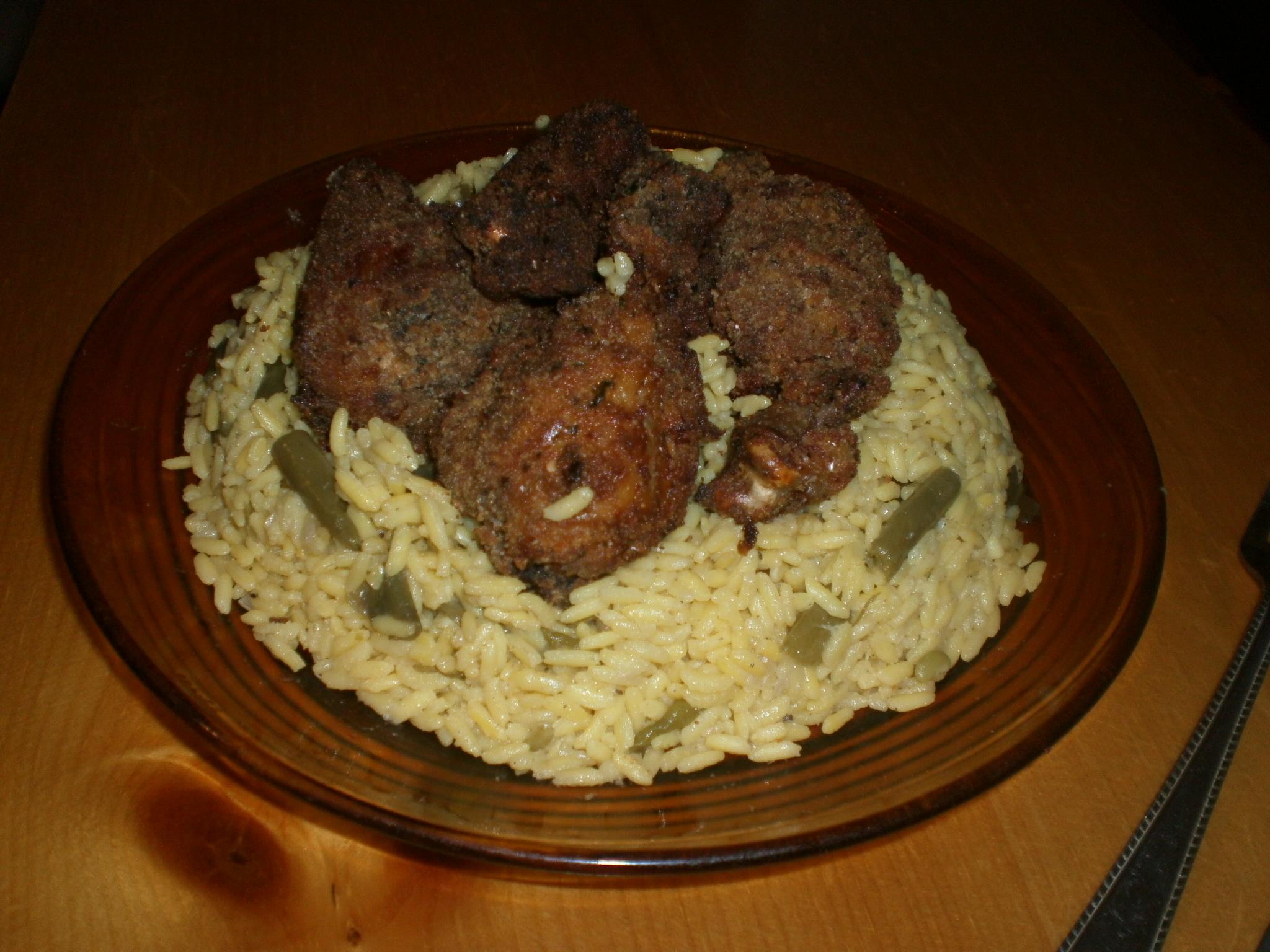 recette pilons de poulet au four et riz recettes maroc. Black Bedroom Furniture Sets. Home Design Ideas