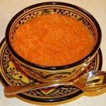 salade d'orange et carotte