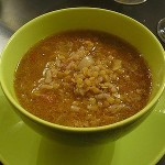 soupe lentilles