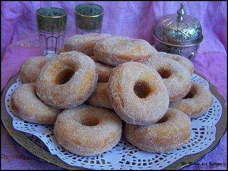 Recette beignets marocains recettes maroc - Recette beignet au sucre moelleux ...