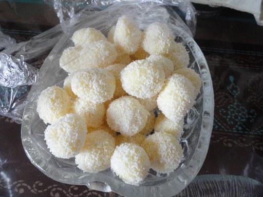 truffes au noix de coco