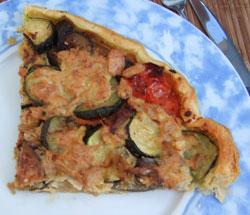 tarte provençale au thon