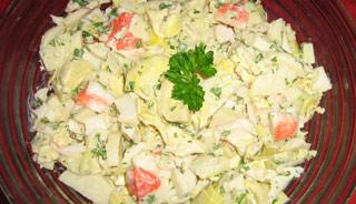 salade de goberge 1
