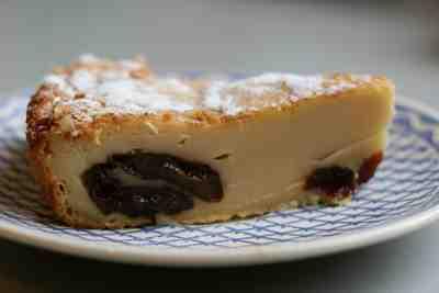 far breton tarte aux pruneaux