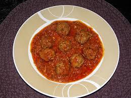 boulettes kefta tomate
