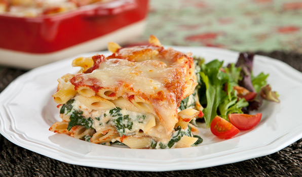 lasagne epinard et fromage ricotta
