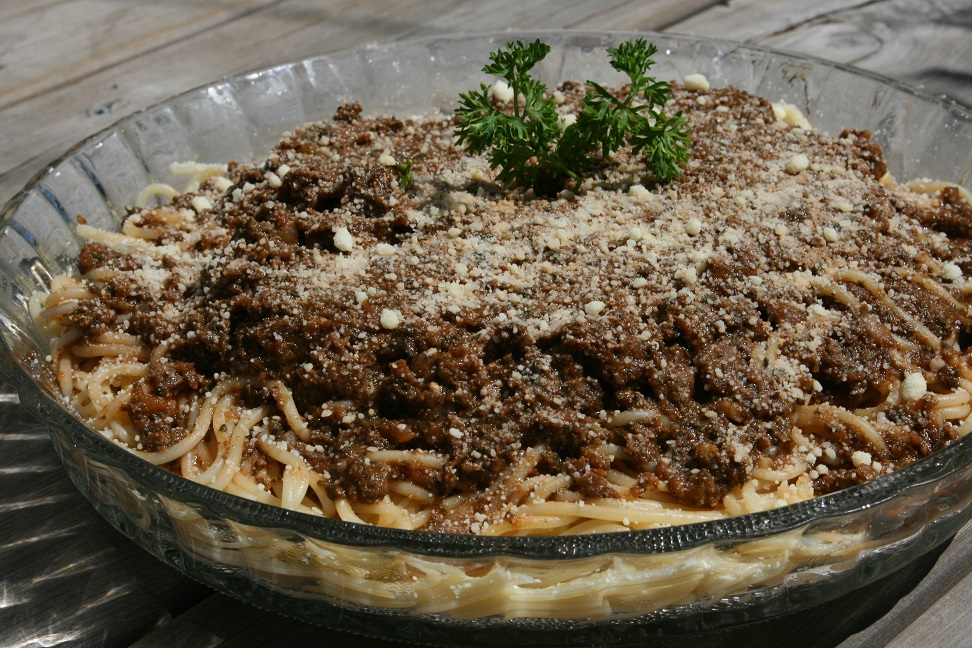 spaghettis epinards