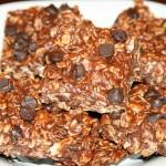 Barres tendres au beurre arachide et raisins secs
