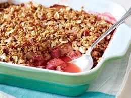 croustade rhubarbe et fraises