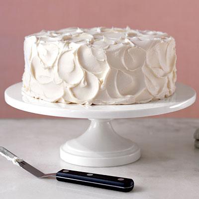 glaçage vanille