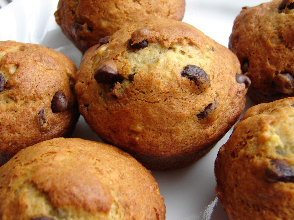 muffins brisures chocolat