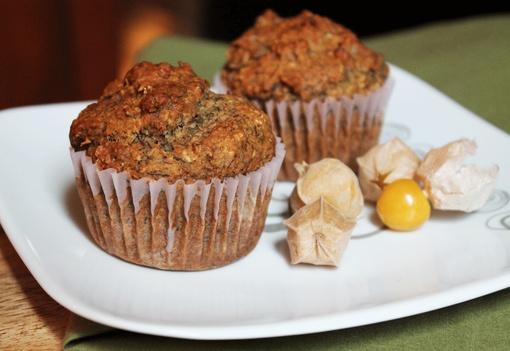 muffins orange et pacanes