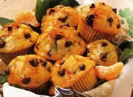 muffins orange et pepites de chocolat